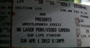 WM 28 Ticket Sales