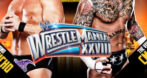 1st Wrestlemania 28 Photo