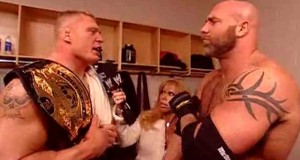 Goldberg wants Brock Lesnar In The Ring!
