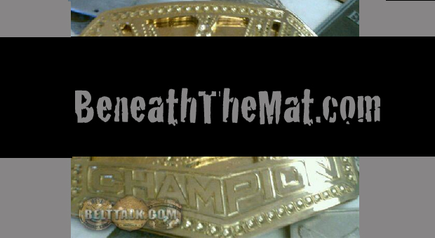 NEW WWE Heavyweight Title Photo Leaked Online!