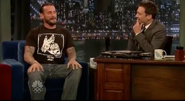 WATCH: CM Punk on Jimmy Fallon